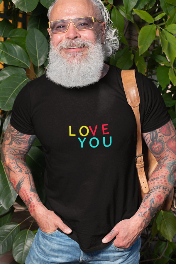Love you T-shirt by Wizard Shirts